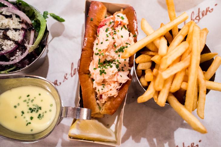 Passagem Gastronômica - Burger & Lobster - Londres