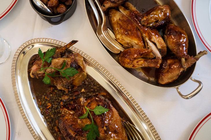 Passagem Gastronômica - Restaurante Allard - Paris